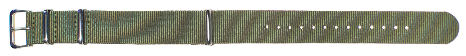 K3640-OL Nato Military Nylon-Olive 20mm new!