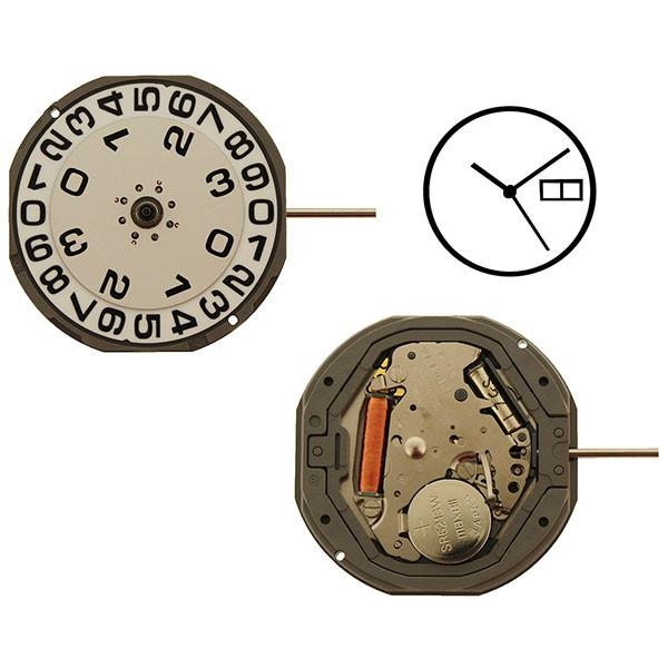 MIY 1M50 Miyota Quartz Watch Movement-Big Date
