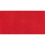 CD105/8 GRIFFIN RED NYLON BEAD CORD #8 Eurotool BDC-105.08