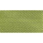 BDC-114.02 GRIFFIN JADE GREEN NYLON BEAD CORD #2 Eurotool