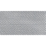 BDC-122.08 GRIFFIN GRAY NYLON BEAD CORD #8 Eurotool