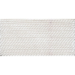 CD231.02 GRIFFIN WHITE SILK BEAD CORD #2 Eurotool BDC-231.02