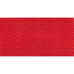 BDC-235.03/10  GRIFFIN RED SILK BEAD CORD # 3- Special 10 Pack- Eurotool