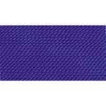 BDC-240.01/10 GRIFFIN Dark Blue SILK BEAD CORD #1-Pkg of 10-Eurotool