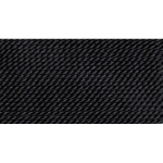 CD253.04 GRIFFIN BLACK SILK BEAD CORD #4 Eurotool # BDC-253.04