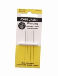 BDN-104.15 English Beading Needles Size #15-pkg of 4- Eurotool