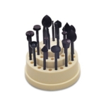 BUR-905.24 Wax Bur Set-- 24 pieces-- from Eurotoool