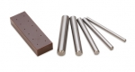 DI163 THE FINAL TOUCH-for stone setting or tightening prong settings W/ 5 PUNCHES