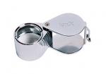 EL753 Diamond Cut 10X Loupes-Silver-Eurotool # ELP-745.03