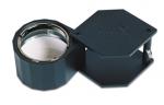 EL746.01 LARGE 10X BLACK HEX LOUPE 21.5MM-Eurotool ELP-746.01