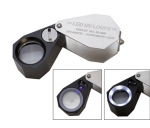 ELP-768.01 10X Magnifier Lighted loupe with both LED & UV lights