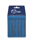 "FI9900 Mini Needle FILE SET of 12- CUT 2, 4""-Eurotool FIL-990.00"