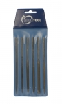 "FI9930 6 PC Economy NEEDLE FILE SET CUT 2- 5-1/2"" Eurotool FIL-993.00"