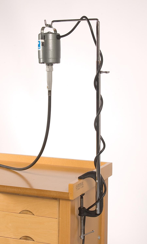 HOL620.00 Flex Shaft Motor Hanger--Bench CLAMP