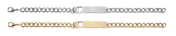 """ID23 Women's 7 1/2"""" Stainless Steel ID Bracelet"""