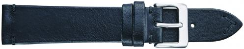 K302.1 Vintage Leather Watch Bands- Black New! Alpine