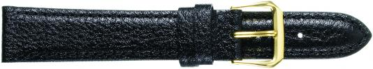 K333.1 Padded Stitched Leather Watch Bands- Black New! Alpine