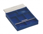 PKG305.00 Seven Compartment Parts Tray with Sliding Lid- Eurotool PKG-305.00
