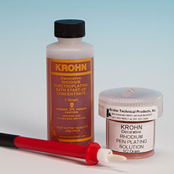PM299 Rhodium Plating Solution-- NON HAZ Kit- 1 Gram- Krohn- can be shipped UPS