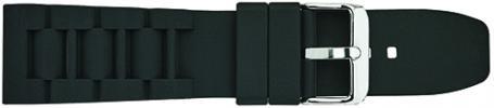 S2700.1 Silicon Sport Band Black 26mm Alpine New!