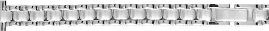 S402 Metal Watchband Silver 12mm Alpine