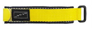 V1020.11 Velcro Style Nylon Sport Band Blue/Yellow 20mm New! Alpine