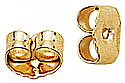 EB3K 14K Gold Friction Earring Backs- One Pair