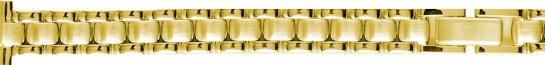 Y402 Metal Watchband Yellow Straight End 12mm-- Alpine